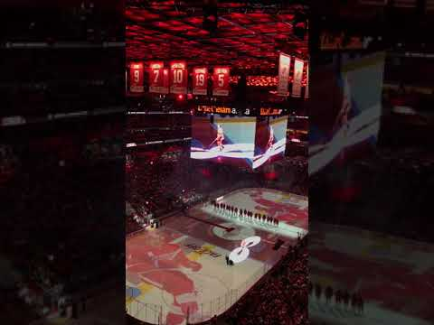 Detroit Red Wings Little Caesars Arena Opening Night Ceremony