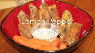How to make amazing Lemon pepper wings🍗! For your 🏈 football party!