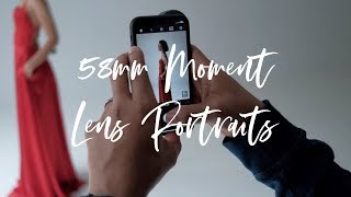 Take Amazing Photos with Just an iPhone!!   Moment Lens 58mm Portrait Session