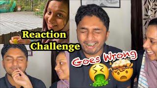🤮🌶️ Our Reaction challenge Goes wrong🤢 ഇത്രക്ക് scene ആവുമെന്ന് കരുതിയില്ലാ 😭🤯@Jinu & Shakir