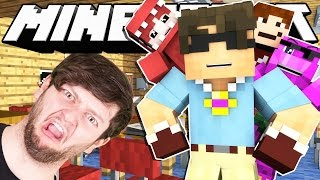 Minecraft Hide N Seek SCHOOL 2! (Funny Moments)