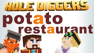 Minecraft - Potato Restaurant - Hole Diggers 52