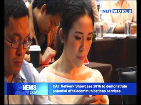 CAT Network Showcase 2016 to demonstrate potential of telecommunications services