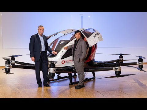 First Real Flying Car in Dubai 2017 Ehang 184