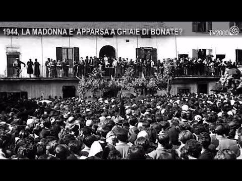 1944, la Madonna è apparsa a Ghiaie di Bonate?
