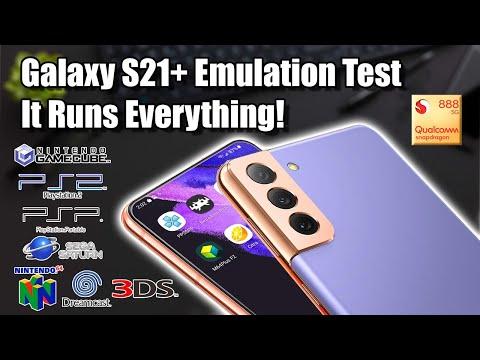 Galaxy S21+ Emulation