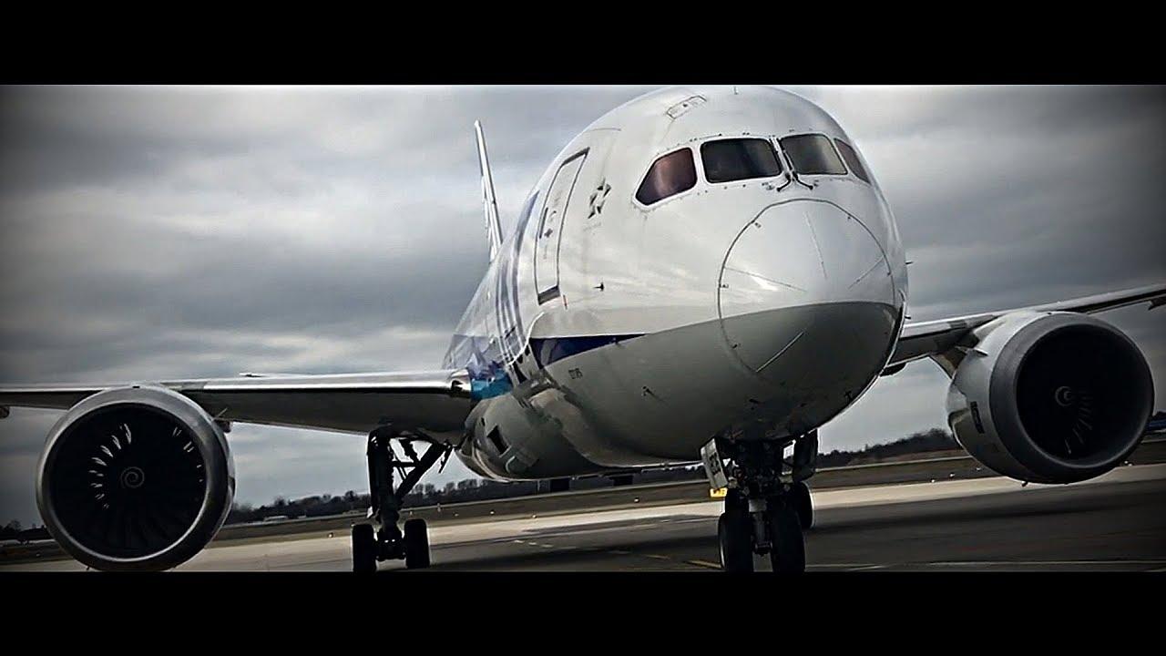 AIRPLANE PORN | Boeing 787 - FullHD