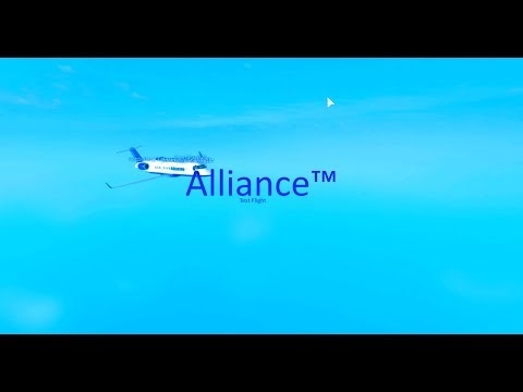 [Roblox Flight] Alliance Airlines™ CRJ-200 Test Flight | Failed
