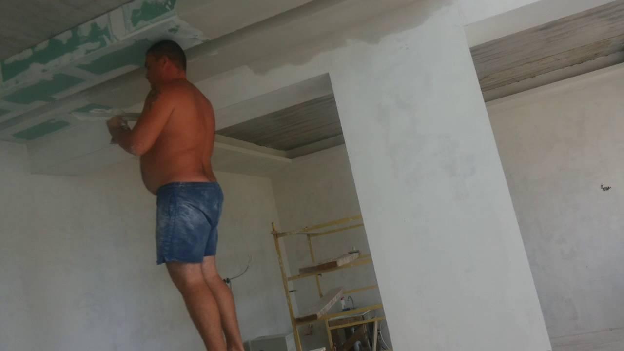 Как заармировать гипсокартонный потолок или короб