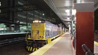 MNRR/LIRR Bombardier M7A Railcar Transfer at New Rochelle (New Haven Line)