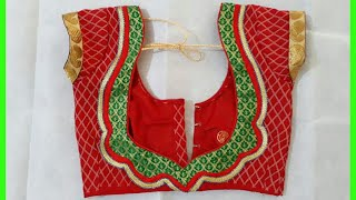 New Blouse Design 2017 Cutting And Stitching