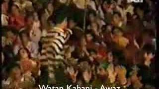 Awaz - Watan Kahani (Live) (Pakipop.com)