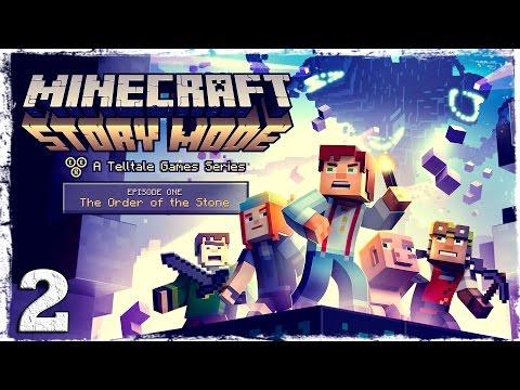 Смотреть прохождение игры Minecraft Story Mode. #2: Сделка.