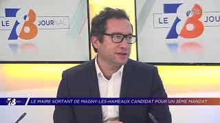 Yvelines | Bertrand Houillon candidat à un 3ème mandat à Magny-Les-Hameaux