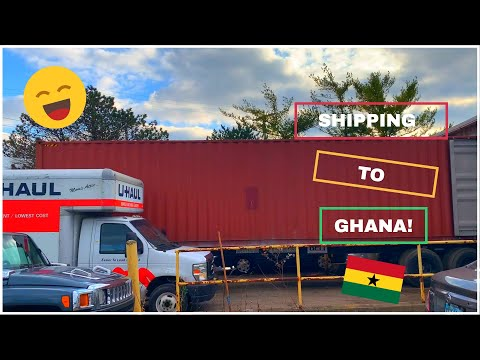 SHIPPING TO GHANA - WE TOOK EVERYTHING!