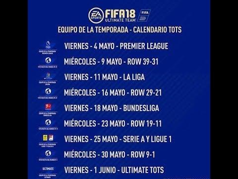 Calendario Ligue 1.Calendario Completo Tots Di Fut 18 Riepilogo Investimenti