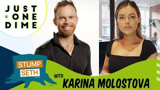 Stump Seth: Karina Molostova, a former model discusses how to build your dreams, selling on Amazon