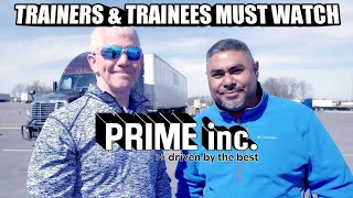PRIME INC. - TRAINER & TRAINEES MUST WATCH