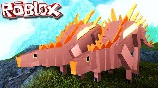 "Simulateur de dinosaures - Juntos Somos Mais Fortes! ""Kentrosaurus"" - France ""Roblox"" (#35) (Gameplay/PT-BR)"