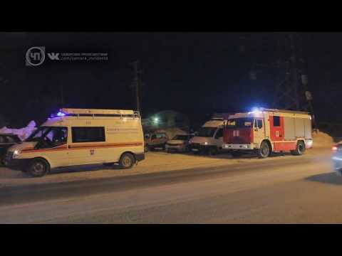 В Самаре на Красноглинском шоссе выгорел автосервис