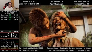 The Last of Us: Left Behind Speedrun World Record! (5:25.3) on Easy mode (Any% PS4)