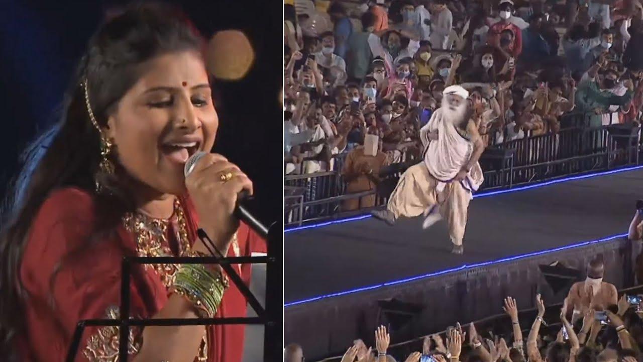 Download Singer Mangli Performance 2021 Maha Shivaratri | Sadhguru | Daily Culture