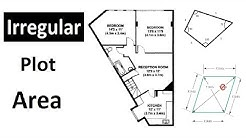 How to calculate Irregular Land Area