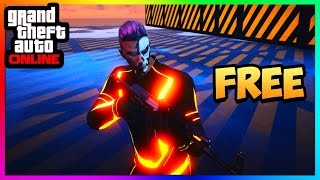 GTA 5 Online - How To Get FREE Tron Suits Online! [ANY COLOR] PS4/Xbox One/PC Patch 1.45