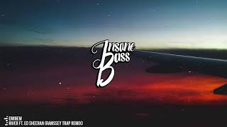Eminem - River ft. Ed Sheeran (RAMSSEY Trap Remix) (Bass Boosted)