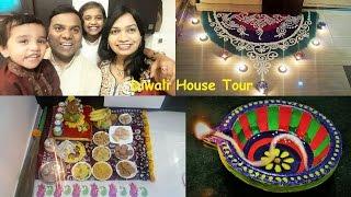 Diwali Celebrations | House Tour | Diwali Decoration | Diwali Recipes by madhurasrecipe