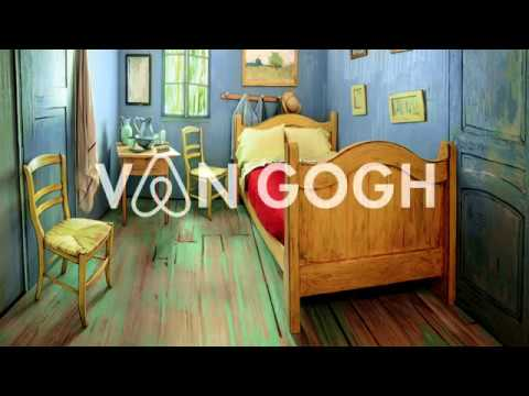 VAN GOGH'S BEDROOMS LET YOURSELF IN - ART INSTITUTE OF CHICAGO - LEO BURNETT CHICAGO