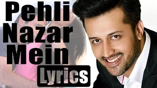 Pehli Nazar Mein Kaisa Jaadu Kar Diya | Lyrics | Race | Atif Aslam | HD | Song | Globe Lyrics | GL