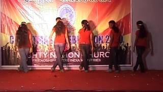 HINDI CHRISTMAS CAROL DANCE 7. BY  PRISCILLA ORPHANAGE CHILDREN MUMBAI INDIA