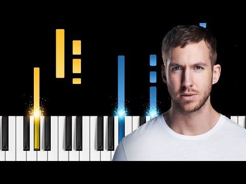 Calvin Harris - Slide ft. Frank Ocean & Migos - Piano Tutorial