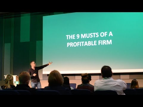 The 9 Musts Of A Profitable Firm | James Ashford's Keynote | The Sage Sessions 2017
