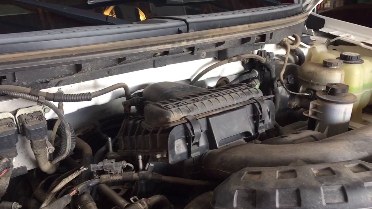 2005 Ford F-150 5 4 Triton Rough Idle Then Dies
