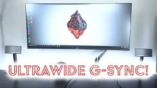 Curved ULTRAWIDE G-Sync Monitor / LG! 166 Hz Gaming!