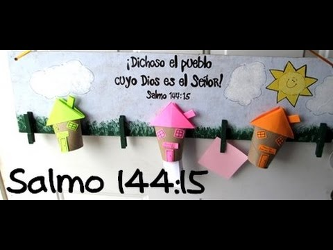 Manualidades cristianas salmo 144 15 manualidades para - Manualidades en carton ...