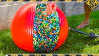 Combining 10,000 Orbeez into One Giant One