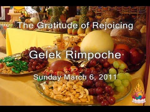 Internal Change is Important - Gelek Rimpoche March 6, 2011