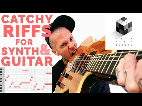 How to Compose a Song - Write a Guitar Riff or Melody over a Chord Progression   Hack Music Theory