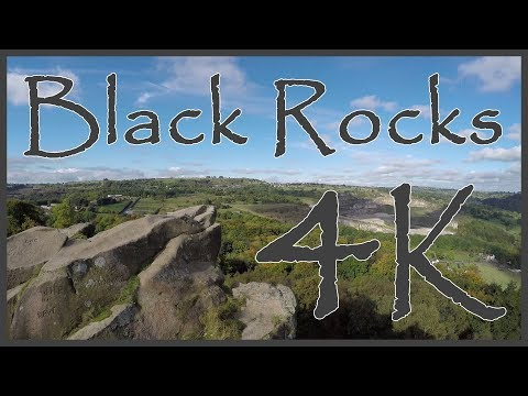 Black Rocks, Cromford, Derbyshire (near Matlock) - Vlogging And Drone In 4k UHD