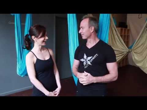 Hot Workout: AntiGravity Fitness with Christopher Harrison