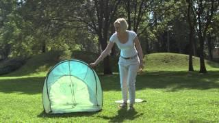 Tenda parasole pop-up Babymoov: ripara il bebè da sole, vento, sabbia e insetti