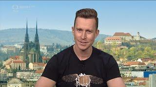 Tomáš Bábek - LIVE studio rozhovor - ČT Sport - Sportovní zprávy 18.4.2017