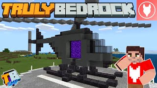 Truly Bedrock SMP : S2 - E26 - Making A Helicopter Nether Portal!