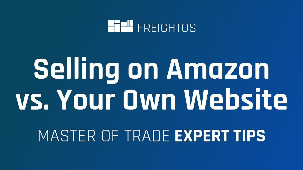 Selling on Amazon vs. your own website | Chad Rubin
