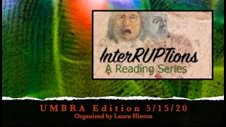 I Am a Cowboy in the Boat of Ra, by Ishmael Reed, read by Dudgrick Bevins at InterRUPTions 5/15/20