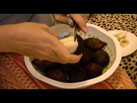 Тропические фрукты Индонезии - Салак (salak)