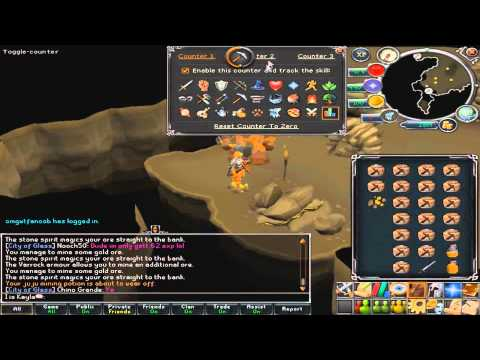 how to get rid of xp bar runescape